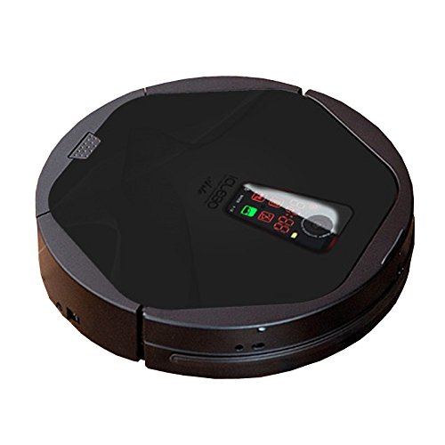 iclebo arte ycr m05 30 color black edition floor mapping smart robotic robot vacuum cleaning. Black Bedroom Furniture Sets. Home Design Ideas