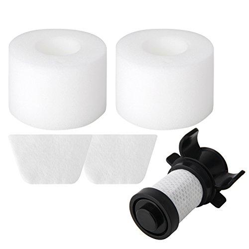 Colorfullife 1hepa 2 Foam Filters For Shark Ionflex