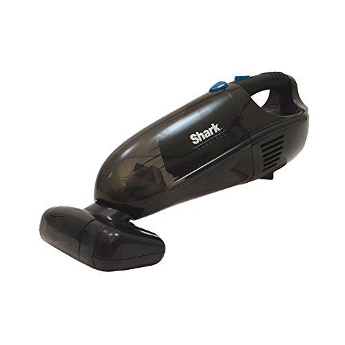 shark cordless handheld vacuum cleaner charcoal gray blue. Black Bedroom Furniture Sets. Home Design Ideas