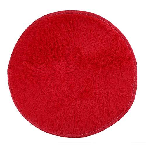 Floor Carpet 42cm Fluffy Round Foam Rug Non Slip Shower